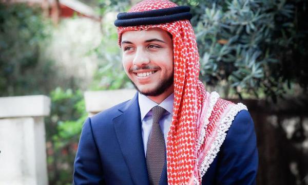 ولي عهد الأردن الحسين بن عبد الله