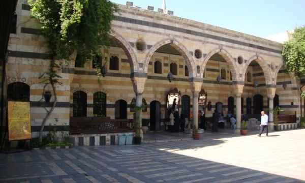السياحة فى دمشق