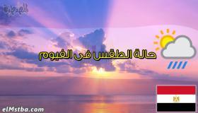 حالة الطقس فى الفيوم، مصر اليوم #Tareekh