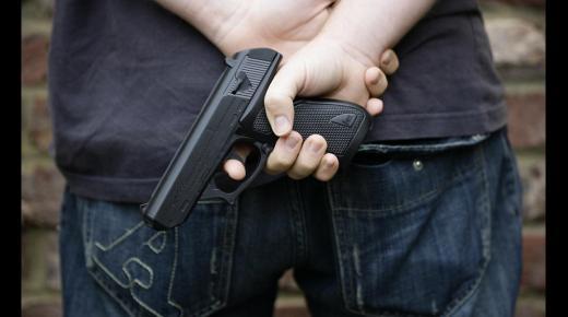 انتشار الجريمة في المجتمع