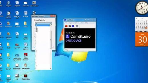 تسجيل فيديو لشاشة الكمبيوتر بأكثر من طريقة