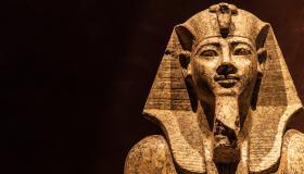 جثة فرعون فى المتحف المصري