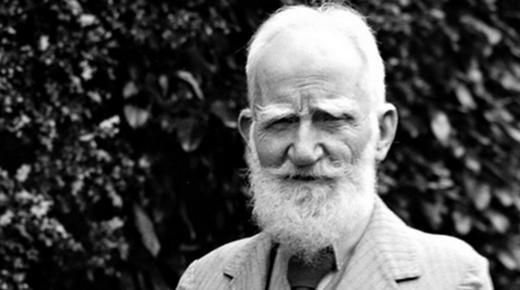 الأديب الإيرلندي جورج برنارد شو