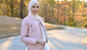 أحدث تصميمات موضة حجاب 2019 بالصور من مدونة الموضة لينا سعد