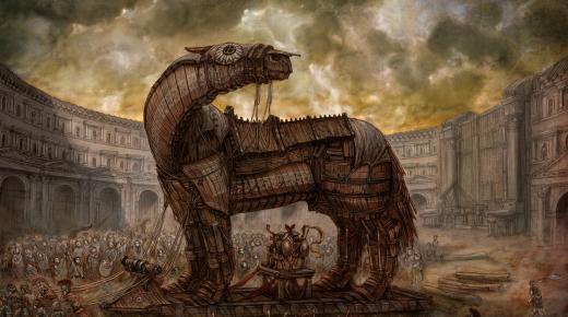 ما هو حصان طروادة الإغريقي؟