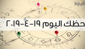 حظك اليوم 19-4-2019 ماغي فرح | توقعات الأبراج اليوم الجمعة 19 أبريل 2019