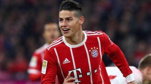 من هو خاميس رودريغيز لاعب بايرن ميونيخ الألماني ومنتخب كولومبيا لكرة القدم؟