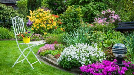 ديكورات حدائق منزلية 2020 أحدث تصميمات أشكال حدائق منازل خضراء