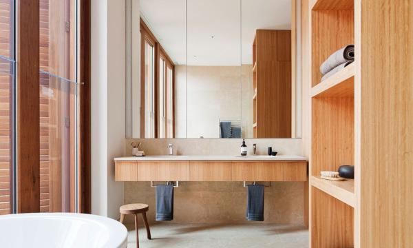 أحدث تصميمات ديكورات حمامات 2020 أجمل أشكال موديلات حمامات مودرن بالصور المصطبة