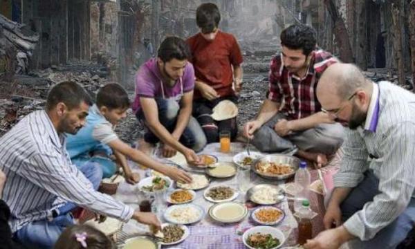 رمضان فى سوريا