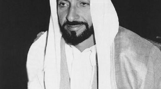 مؤسس الإمارات زايد بن سلطان