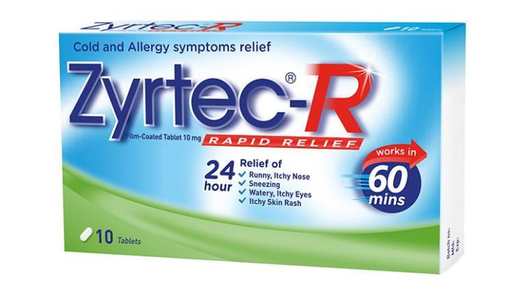 دواء زيرتك Zyrtec للتخفيف من أعراض الحساسية وتسكين الآلام