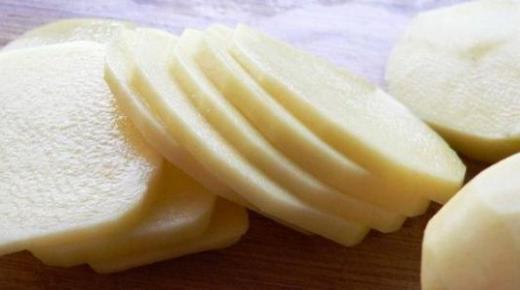 طريقة حفظ البطاطس بقشرها