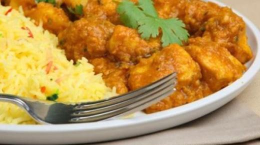 طريقة عمل دجاج بالكاري بأكثر من وصفة رائعة