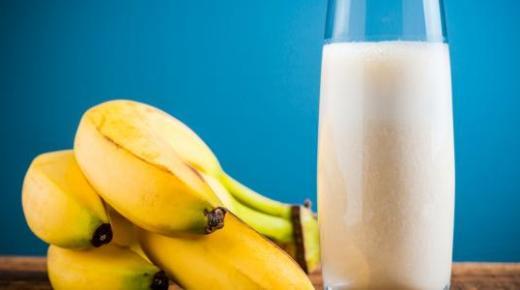طريقة عمل عصير الموز في المنزل بأكثر من طريقة لذيذة وصحية