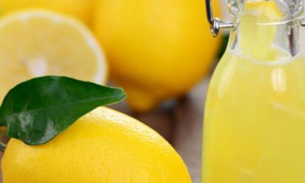 طريقة تخزين عصير الليمون