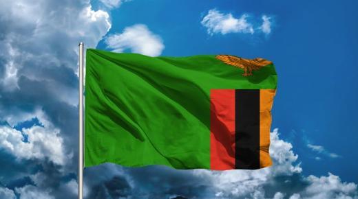 ما معنى ألوان علم زامبيا؟