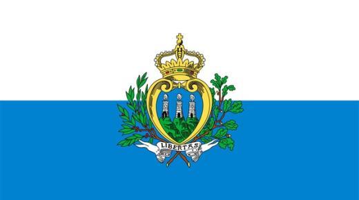 ما معنى ألوان علم سان مارينو؟