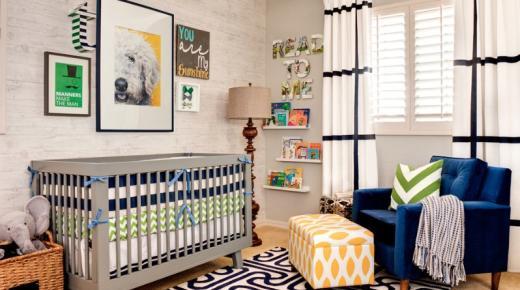 ديكورات غرف نوم أطفال مواليد 2020 أحدث تصميمات غرف النوم للبيبي (أولاد و بنات)
