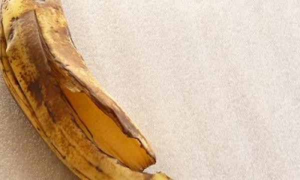قشر الموز لتطويل الشعر