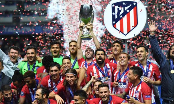 قائمة لاعبى أتلتيكو مدريد لموسم 2019 فى الدورى الإسبانى