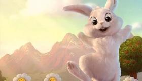 قصة الأرنب والبطة والكرة