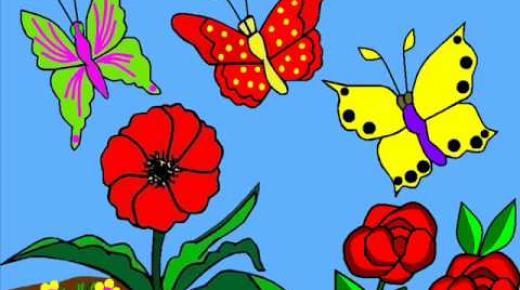 قصة الفراشة الصغيرة