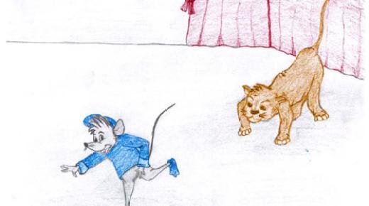 قصة القطة والفئران حواديت أبلة فضيلة