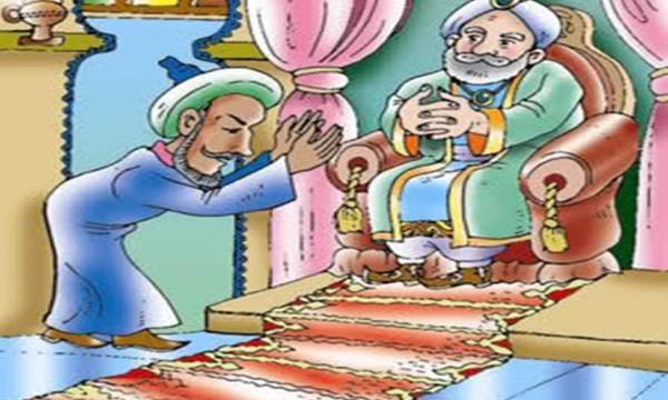 قصة الوزير عبد الله والتاجر