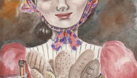 تلخيص قصة بائعة الخبز