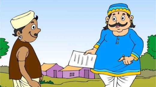 قصة عن الطمع الوزير والملك