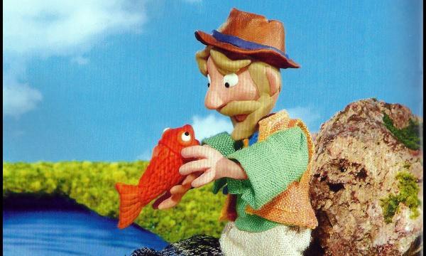 قصة قصيرة للأطفال الصياد والسمكة السحرية