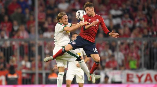 موعد مباراة بايرن ميونخ وبوروسيا مونشنغلادباخ السبت 7-12-2019 | الدوري الألماني