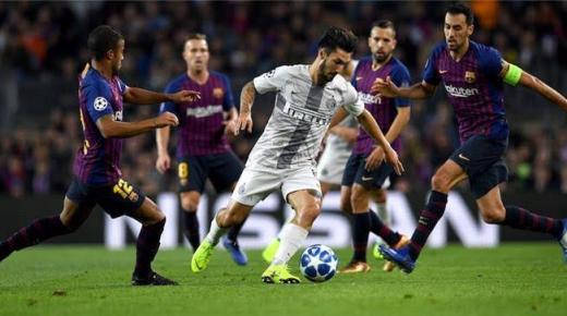 موعد مباراة برشلونة وإنتر ميلان الثلاثاء 10-12-2019 والقنوات الناقلة | دوري أبطال أوروبا