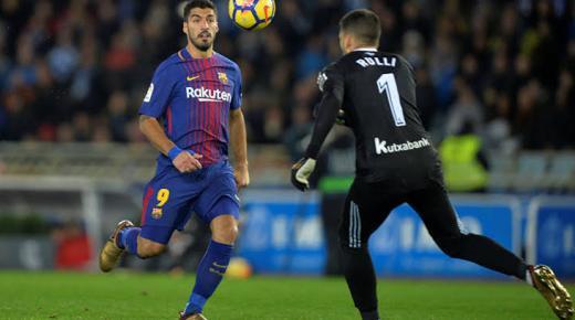 موعد مباراة برشلونة وريال سوسيداد السبت 14-12-2019 والقنوات الناقلة | الدوري الإسباني