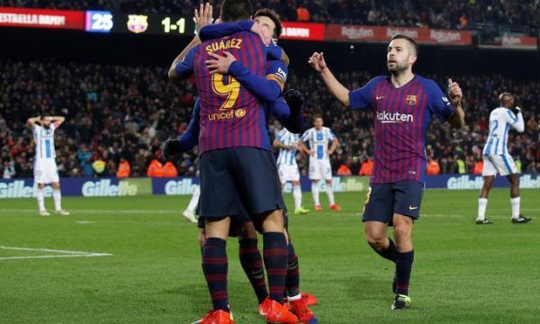 موعد مباراة برشلونة وليجانيس السبت 23-11-2019 | الدوري الإسباني