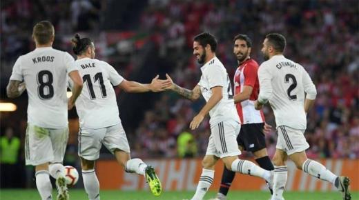 موعد مباراة ريال مدريد وأتلتيك بلباو الأحد 22-12-2019 والقنوات الناقلة | الدوري الإسباني
