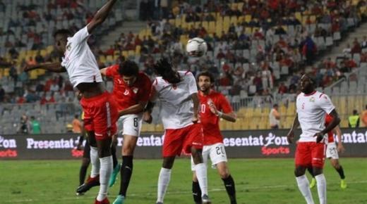 موعد مباراة مصر وجزر القمر في تصفيات أمم أفريقيا 2021