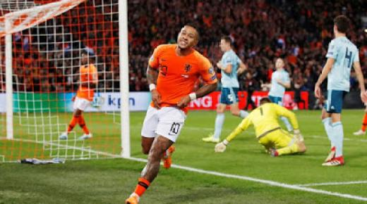 ملخص مباراة هولندا وإيرلندا الشمالية اليوم السبت تصفيات يورو 2020