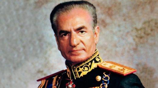 شاه إيران محمد رضا بهلوي