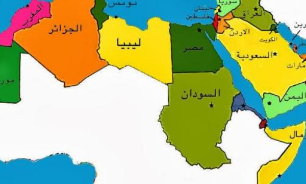 مساحة الدول العربية