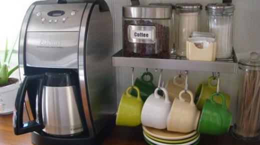 مشروع تجارة ماكينات القهوة