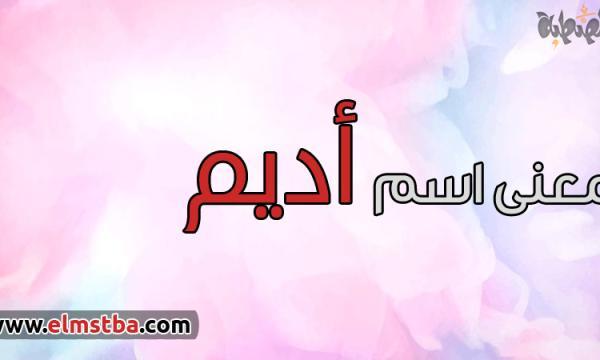 معنى اسم أديم Adeem في اللغة العربية وصفات حاملة اسم أديم