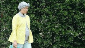 أحدث ملابس محجبات للحوامل 2019 بالصور