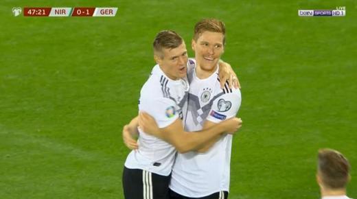 ملخص مباراة ألمانيا وإيرلندا الشمالية اليوم الثلاثاء 19-11-2019 | تصفيات يورو 2020