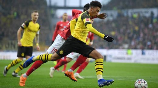 أهداف و ملخص مباراة بوروسيا دورتموند وماينز اليوم السبت 14-12-2019 | الدوري الألماني