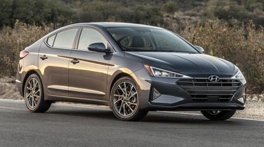 مواصفات ومميزات سيارة هيونداى أفانتى Hyundai Avante 2019