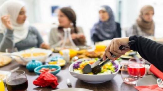 طرق زيادة الوزن في رمضان