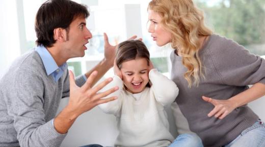 آثار الطلاق على الأبناء