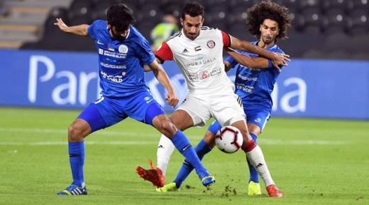 موعد مباراة الجزيرة والنصر الأربعاء 1-1-2020 والقنوات الناقلة | الدوري الإماراتي